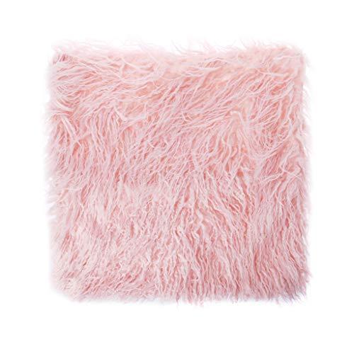 Selma. Deluxe Throw Faux Fur Throw Soft Sofa Fluffy Plush Pillow Case Cushion Cover Home Decor for Couch Sofa Car Coffee Shop Decor