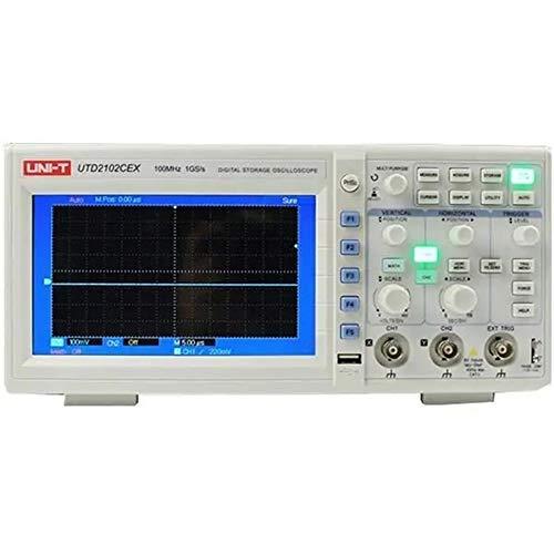 NO BRAND Osciloscopio Digital Digital 2 Canales 1G 100MHz 7 Pulgadas TFT LCD de Almacenamiento osciloscopio (Color : Blanco, tamaño : Un tamaño)