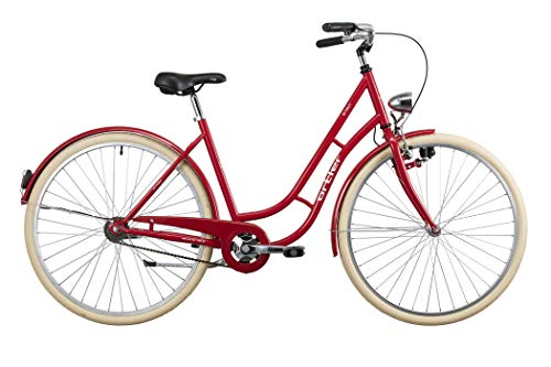 Ortler Detroit Damen Shiny red 2020 Cityrad