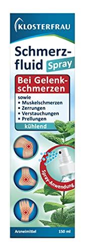 Klosterfrau Schmerzfluid   kühlende Spray-Anwendung   Bei Gelenk- und Muskelschmerzen   3-fach Wirkung   1 x 150ml