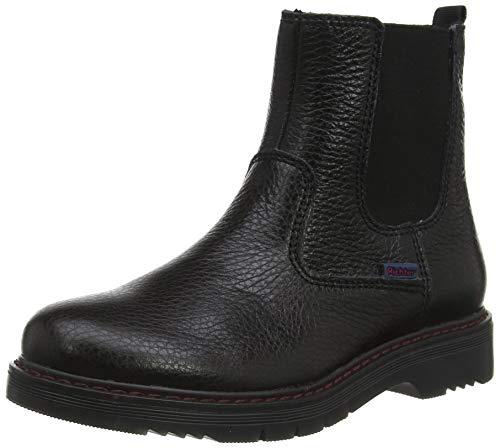 Richter Kinderschuhe Mädchen Prisma Chelsea Boots, Schwarz (Black 9900), 33 EU