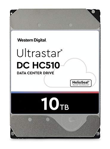 """HGST Ultrastar HC510 Disco Rigido Aziendale da 10TB, 3,5"""", SATA III 6Gb / s, 7200rpm, 256 MB di cache, OEM"""