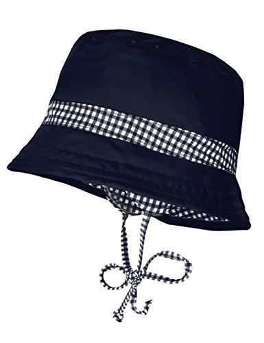 maximo Jungen Hut, Ohrenklappen und Bindeband Mütze, Mehrfarbig (Navy 48), 47 cm