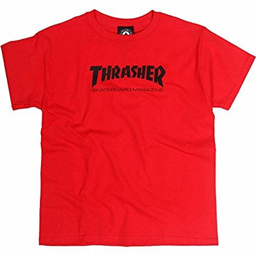 T-Shirt Bambino Thrasher Skate Mag Rosso (S Bambino , Rosso)