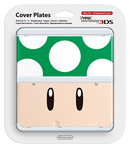 New Nintendo 3DS Zierblende 008 (1-Up-Pilz)