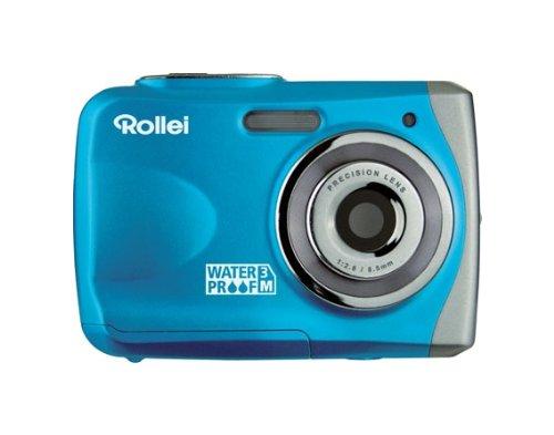 Rollei Sportsline 50 Digitalkamera (5 Megapixels, 8 - Fach digital Zoom, 6,10 cm (2,4 Zoll) Display, Wasserdicht bis 3 Meter) blau