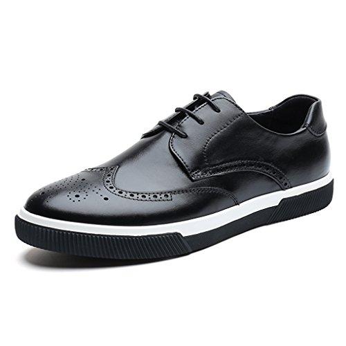[アサガオ] ビジネスシューズ メンズ メンズシューズ 革靴 滑り止め 軽量 レースアップ 紳士靴 黒 カジュアル 歩きやすい 疲れない スニーカー感覚 ウォーキングシューズ
