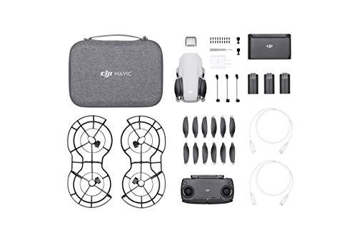 DJI Mavic Mini Combo Drone FlyCam Quadcopter with 2.7K Camera 3-Axis Gimbal GPS 30min Flight Time (Renewed)