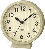 MAG(マグ) 置き時計 ナチュラル アナログ コンポート 連続秒針 置き掛け兼用 W-770N-Z