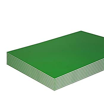 Foam Boards Lightweight Sign Blank Foam Core Poster Backing Boards School and Office Signboard Durable Poster Sheets Green Blank Signs for Presentation and Crafts  Pack of 2  by - Emraw