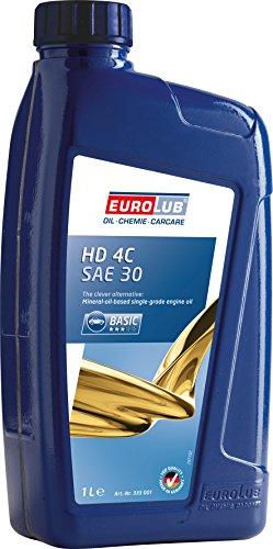EUROLUB HD 4C SAE 30 Rasenmäheröl, 1 Liter