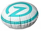 zefiropiscine camera cuscino galleggiante gonfiabile per sollevamento telo di copertura piscina - diametro cm 80 con 2 passacorda - made in italy - novita'