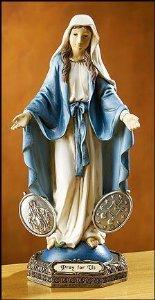 Bendecido por el Papa Benedetto XVI Medalla Milagrosa Regalos religiosos