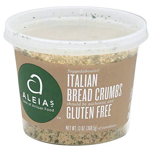 Aleias Breadcrumb Gluten Free Italian 13.0 OZ (Pack of 4)