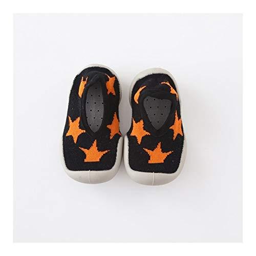 Chaussette Bebe Chaussures bébé garçon Fille Mode Tout-Petits Chaussures New Born First Walkers Lovely Baby Bottillons Enfants Chaussures de Sport Anti-Slip (Color : 4, Taille : 6-12 Months)