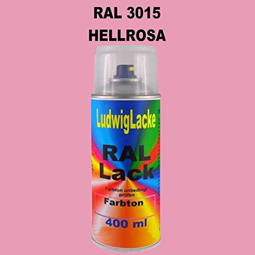 RAL 3015 Hellrosa Matt 400 ml 1K Spray