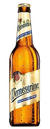 Wernesgrüner alkoholfrei - 0,5l, inkl. Pfand - 20 Flaschen ohne Kiste