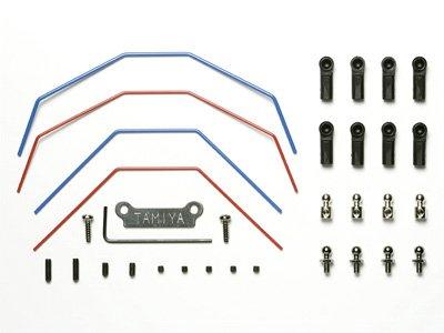 Tamiya 300053829 – DT Kit de 02 Stabilisateur Avant et arrière