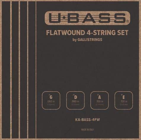 Kala - Juego de cuerdas para bajo (4 unidades)