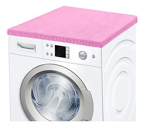 Ladeheid Waschmaschinenbezug Frotteebezug 50x60 cm (Hellrosa)