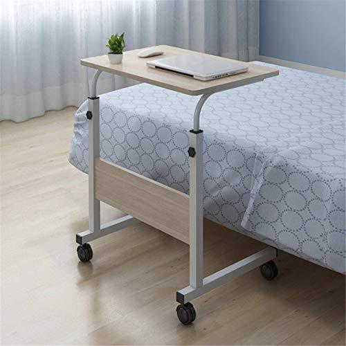 Escritorio de la lapita de la bandeja de cama plegable Tabla de alojamiento de la cama Ordenador portátil Mesa de madera + Marco de acero Movible Altura Ajustable Moderno Moderno Portátil Portátil Sop