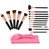 Makeup Brushes Premium Synthetic Foundation...