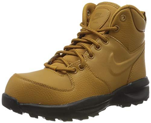 Nike Unisex-Kinder Manoa Ltr (Gs) Hohe Sneaker, Schwarz (Wheat/Wheat-Black 102), 40 EU