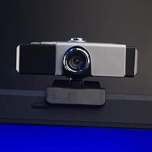 Desktop Computer camera, gratis drive High Definition met microfoon microfoon Home Chat Video USB Black USB-Webcam autofocus