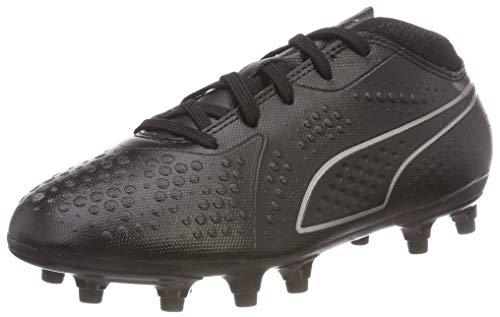 Puma Unisex-Kinder ONE 4 SYN FG JR Fußballschuhe, Schwarz Black Black Black 02, 36 EU