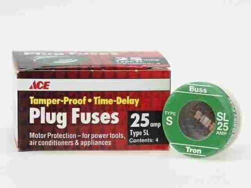 Bx 4: Ace Tamper Proof Fuse SL-25 Plug free famous