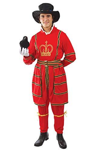 ORION COSTUMES Disfraz de Guardia del Palacio Real Britnico para Hombres