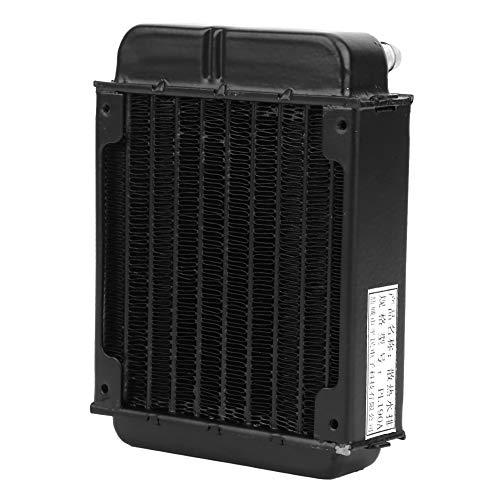 CPU Cooler, Strict Cooling Heat Exchanger Vacuum Aluminum Brazing with Aluminum Quality Control (Black)