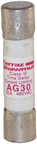 Mersen Cheap AG30 480V 30A 4-Pack Fuse G Price reduction Class