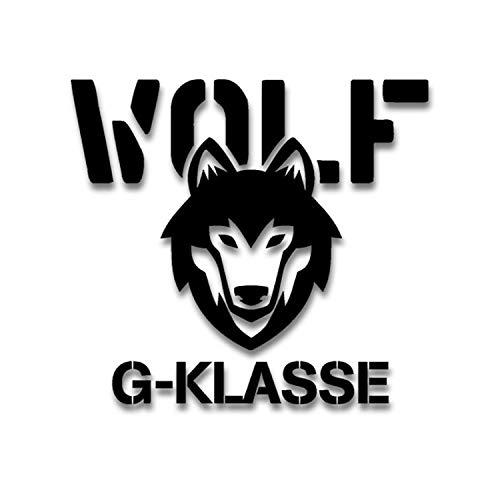 G-Klasse Wolf Bundeswehr Sticker Auto Aufkleber BW Oldtimer 15x14cm #A4485