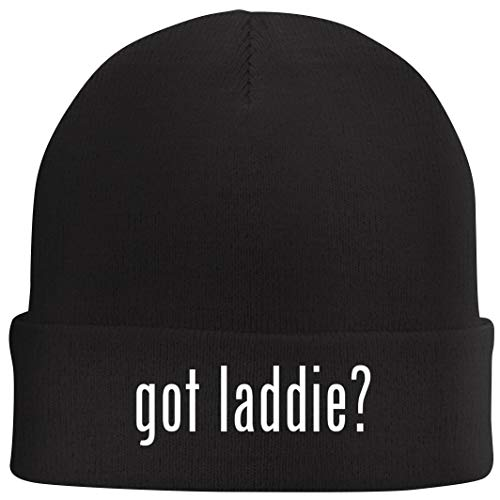 Tracy Gifts got Laddie? - Beanie Skull Cap with Fleece Liner, Black