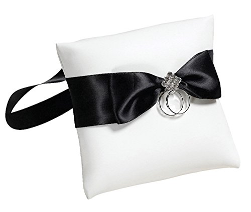 Lillian Rose Monogramm S eingefasst Band Geld Clip, schwarz, 3,75x 2-inch-p, Textil, schwarz, 40...