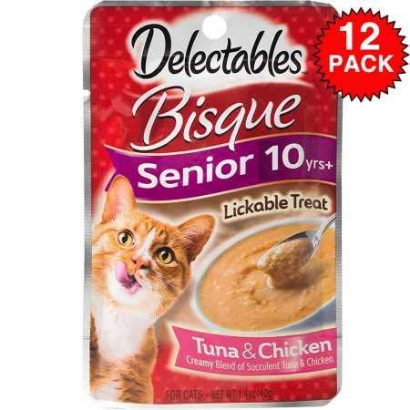 Hartz Lickable Wet Cat Treats for Senior Cats
