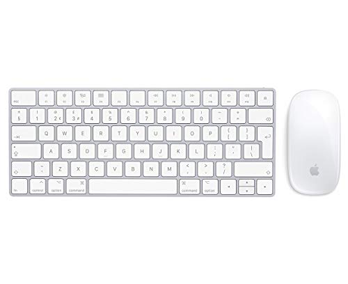 Apple Wireless Magic Keyboard and Wireless Magic Mouse 2 - UK (Renewed)