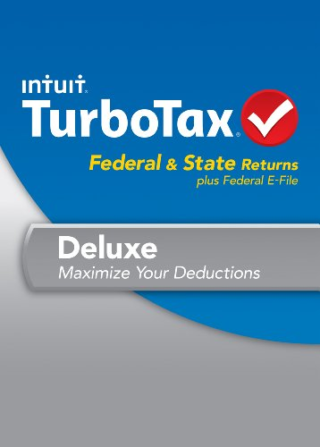 TurboTax Deluxe Fed + Efile + State 2013 OLD VERSION