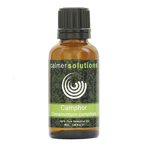 Calmer Solutions Alcanfor 100% Puro Esencial Aceite De Aromaterapia 30ml