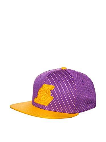 NIKE NBA Snapback Lakers Cap Gorra, Unisex Adulto, Amarillo/Morado, Talla Única