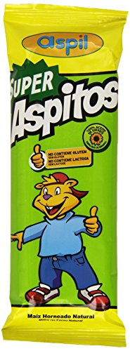 Aspil - Super aspitos natural, pack con 75 unidades