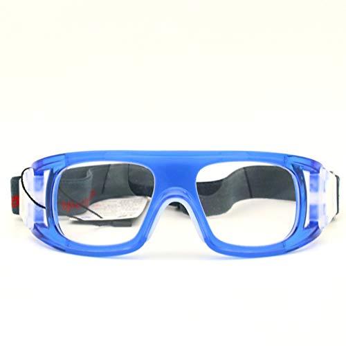 Peanutaoc Basketball-Brille Fußball Sportbrille Badminton explosionsgeschützter Rahmen kann mit Myopia Outdoor ausgestattet Werden