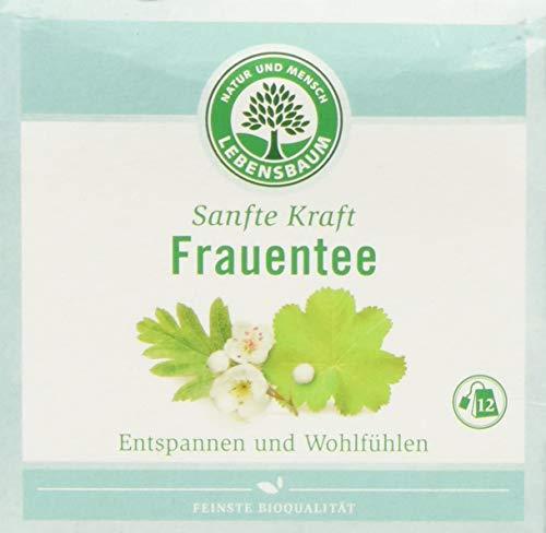 Lebensbaum Sanfte Kraft Kräutertees Im Teebeutel - Einzeln Kuvertiert - Frauentee, 24 g