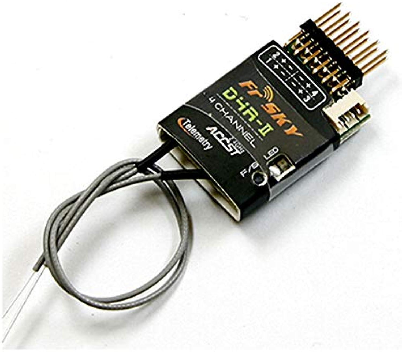 Laliva FrSky D4RII 2.4G 4CH Telemetry Receiver for Taranis X9D Plus RC Quadredor