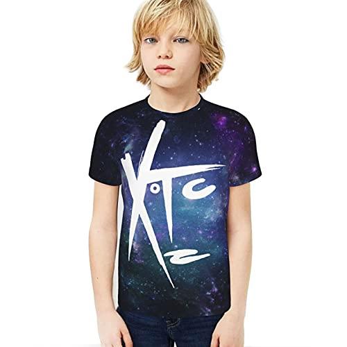 Teens Youth Girls XTC-Band Boy T-Shirt Sports Novelty XL
