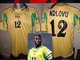 Zimbabwe BNWT nueva Ndlovu fútbol soccer camiseta jersey Legea África tamaños adulto grande copa del mundo de Coventry City Birmingham Sheffield United