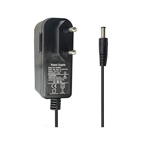 AC zu DC 12V 1A Netzteil Adapter, Stecker 5,5mm x 2,1mm für CCTV-Kamera DVR LED String Licht