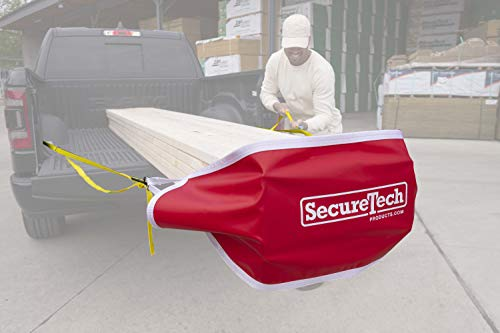 SECURETECH MP-V-S Lets You Safely Secure Cargo. Oversize Loads can be Dangerous, Our Load Management System Made of High Strength Vinyl Provides 1200 LB Retention –Stay Safe, Stay Legal- Made in USA
