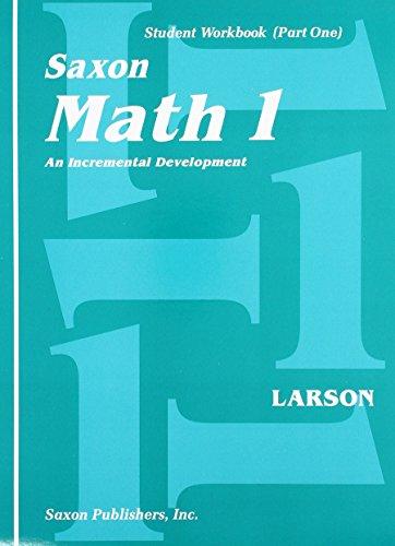 Saxon Math 1: Student Workbook Set 1st Edition